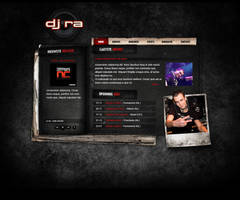 Hardstyle DJ layout by Robke22
