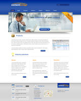Corporate web layout 2 by Robke22