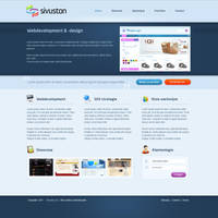 Corporate web layout 3 by Robke22