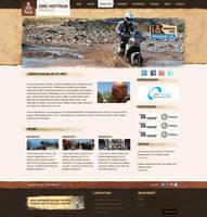 Grunge Dakar-rally layout by Robke22