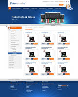 Webshop layout - Poker by Robke22