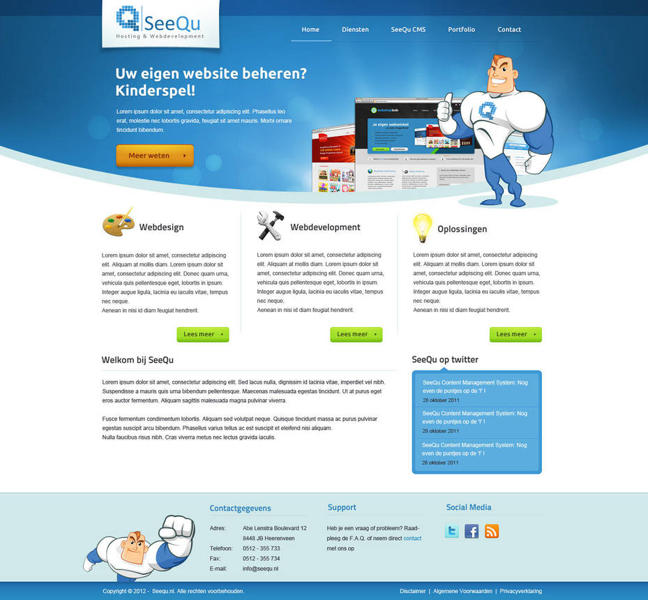 Web Services Layout by Robke22