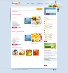 Recipe website by Robke22