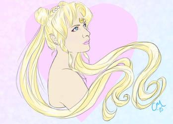 Princess Serenity by spaceprincess42