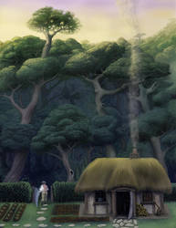 Through The Garden Gate by Wild-E-eep