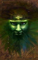The Green Face by Wild-E-eep
