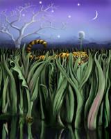 Hidey Tiger by Wild-E-eep