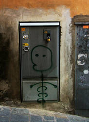 more graffiti in Siena by faather