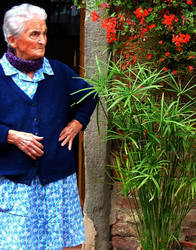 Tuscan lady by faather