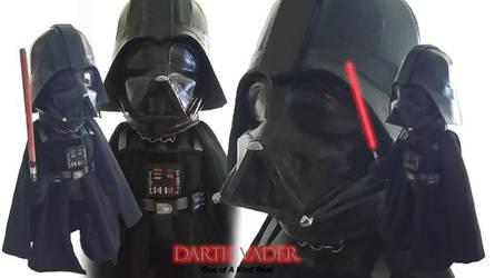 Darth Vader Bear by taria