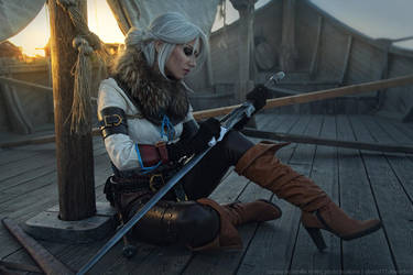 The Witcher 3: Wild Hunt - Cirilla on Skellige by DenikaKiomi