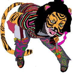 Raver Ash tiger by BelladonnaBloodCrave
