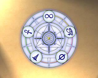Elodrym Magick Circle by ArkayneMagii