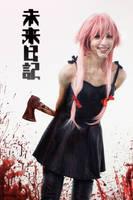 Bloody Yuno - Mirai Nikki by Lilitherz