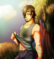 Daryl no by aura102