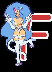 Alphabet Challenge: F for Felicia by aura102