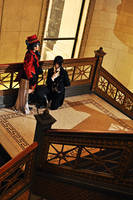 Kuroshitsuji- Stairway by PockyTheif