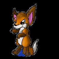 Martial arts Fox by Usagi-Zakura