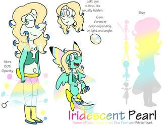 Iridescent Pearl reference by Usagi-Zakura