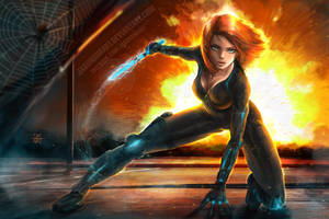 Black Widow by SimArtWorks