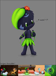 Monster Reference - Akia by tobyf