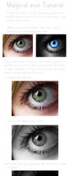 Magical eye: Tutorial by SilaynneStock