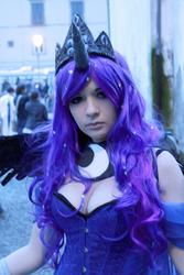 Princess Luna cosplay - MLP FIM by SissiSuzuki