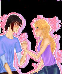 MotH Fanart: Rhi + Lucy by ko---ko