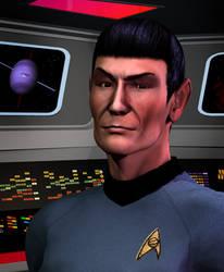 Spock by ZMcG