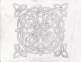 Celtic Knot Design by Grimstnzborith