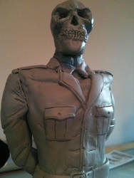 Red skull statue 2 by rayphoton