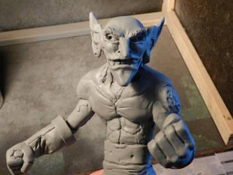 Goblin sculpt by rayphoton
