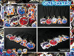 Cute animal charms by tikopets