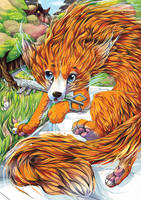 The Fox Guardian by tikopets