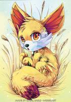 Pokemon: Fennekin by tikopets