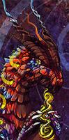 elemental dragon bookmark 1 by tikopets