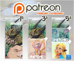 Patreon rewards February 2016 by tikopets
