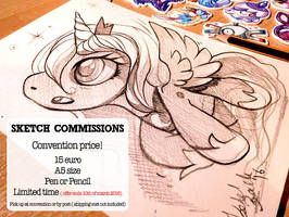 Sketch Commissions are OPEN by tikopets