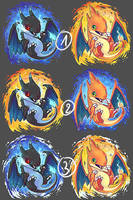 charizard charm design HELP by tikopets