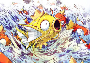Magical Magikarp by tikopets