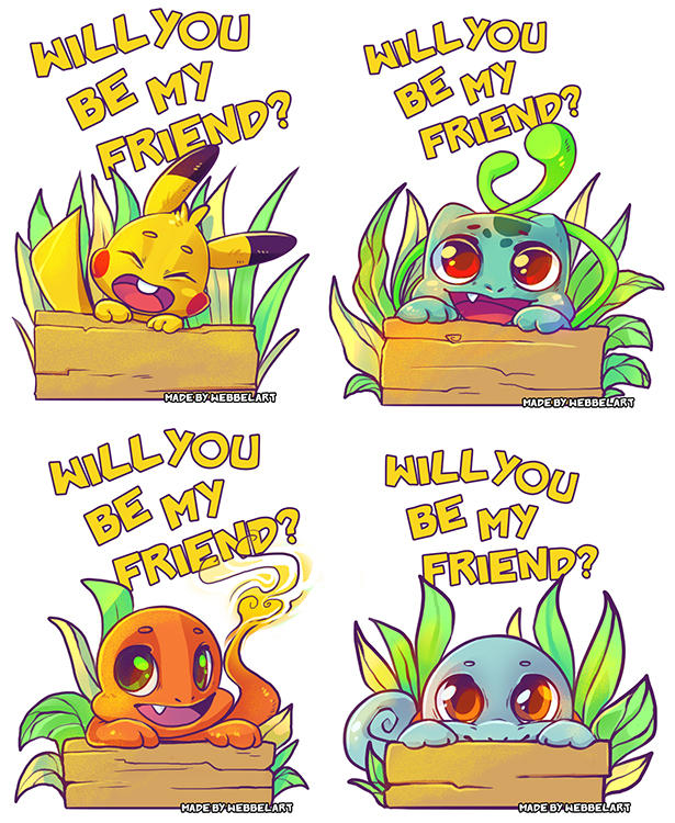 Will you be my friend  PokemonGO by tikopets