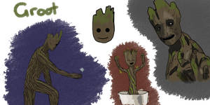 Groot by Saza-Productions