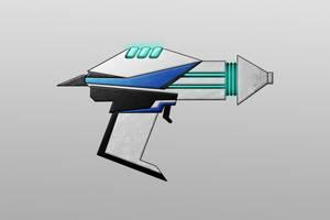 Sci-Fi Gun design 2 by Saza-Productions