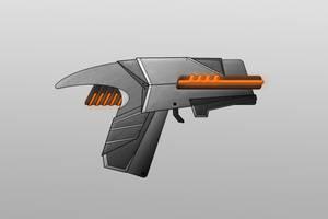 Sci-Fi Gun Design 4 by Saza-Productions