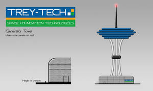 Generator Tower concept design by Saza-Productions