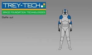 Sci-Fi Battle Suit Concept by Saza-Productions