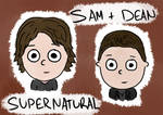Sam and Dean by Saza-Productions