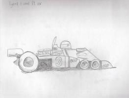 6 Wheel F1 Car by Saza-Productions