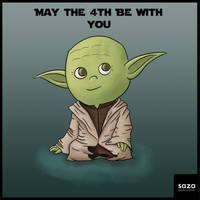 Yoda - May the 4th by Saza-Productions