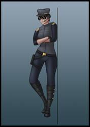 Original Character Concept - Pilot by Saza-Productions